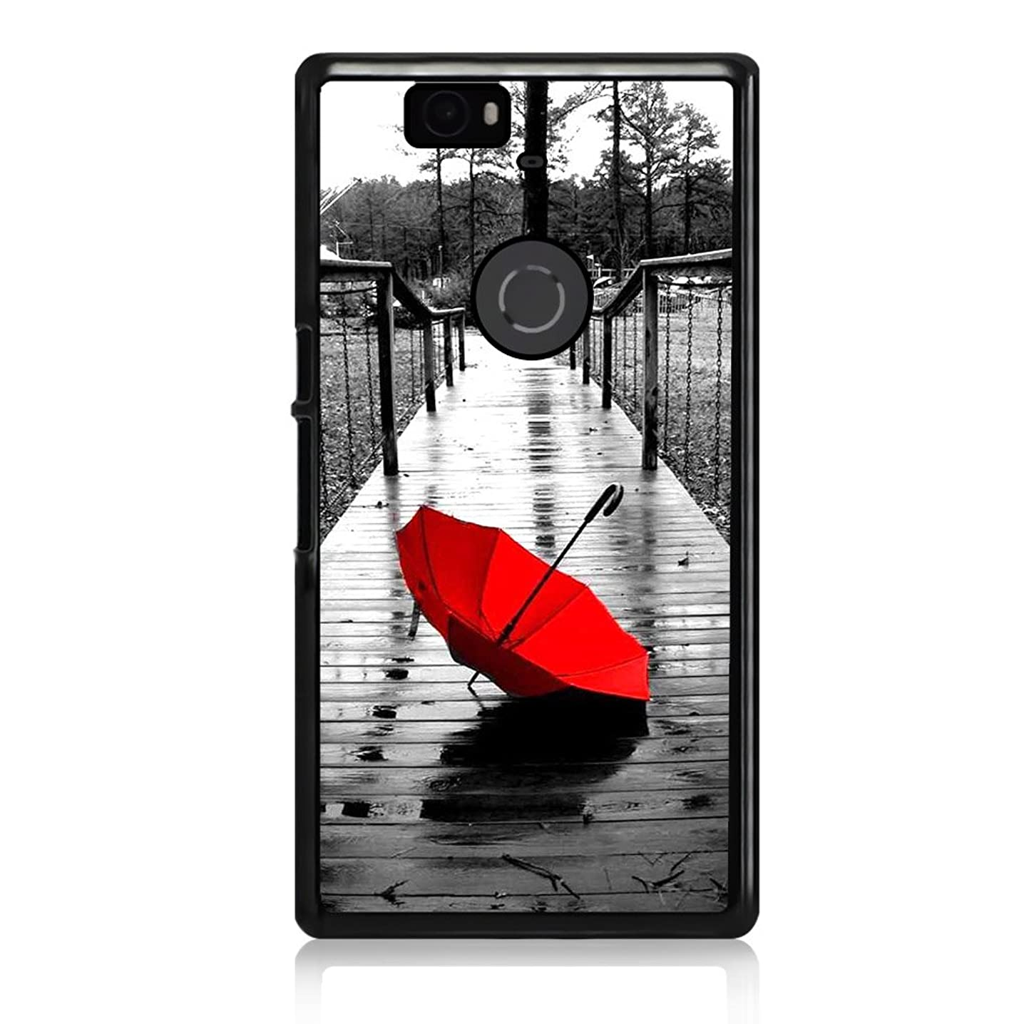 ( For Google Nexus 5 ) Case Cover Phone Case Back Cover - HOT10065 Red Umbrella