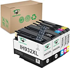 Supricolor Compatible 932xl 933xl Ink Cartridges, Replacement for hp 932 933 Compatible with Officejet 6700 6600 6100 7110 7610 7612 Printer 5 Packs(2 Black 1 Cyan 1 Magenta 1 Yellow)