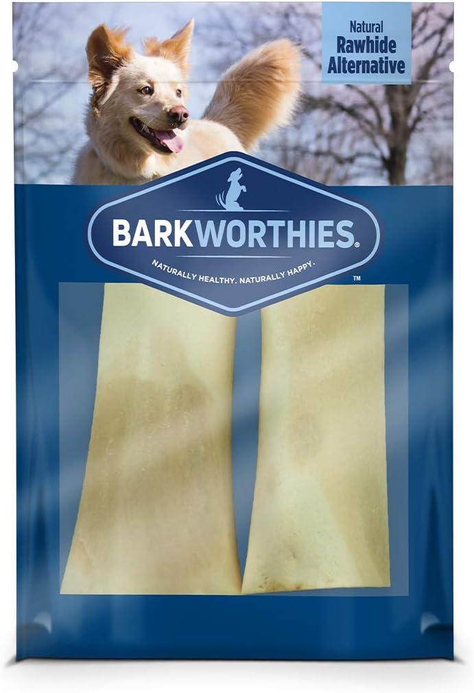 Barkworthies Peanut depot Butter Stuffed Beef Special sale item 2 Pack Bone Tou Shin