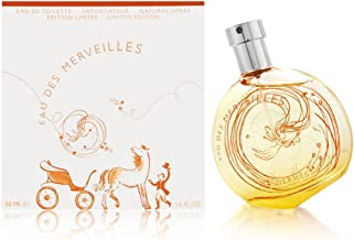 Eau Des Merveilles by Hermes for Women 1.6 oz Eau de Toilette Spray - Au Bal Des Etoiles Limited Edition