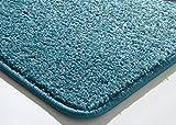 Designer Teppich Modern Cambridge in Türkis, Größe: 300x400 cm - 2