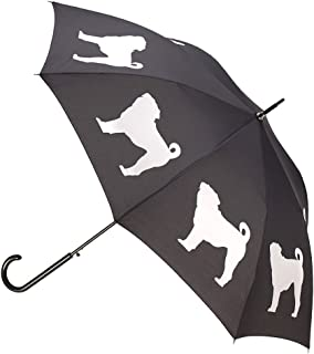 Unisex-Adult (Luggage only) auto Open Stick rain Umbrella, Black