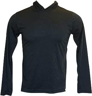 Men's Hoodie Training Dri Fit Long Sleeves Hoodies (Black, XL)