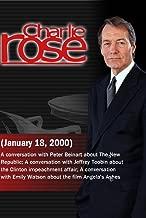 Charlie Rose with Peter Beinart; Jeffrey Toobin; Emily Watson (January 18, 2000)