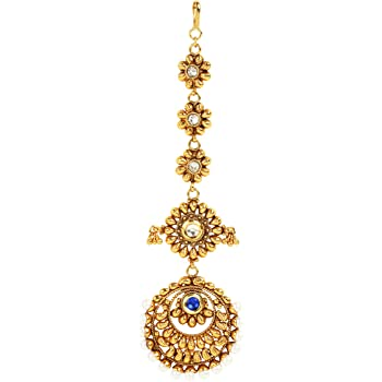 Dancing Girl Bridal Sets maang Tikka tika for Wedding Indian Jewelry for Women