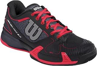 Wilson Women's Rush Pro 2.0 Coal/Black/Red Athletic Shoe - 6 B(M) US