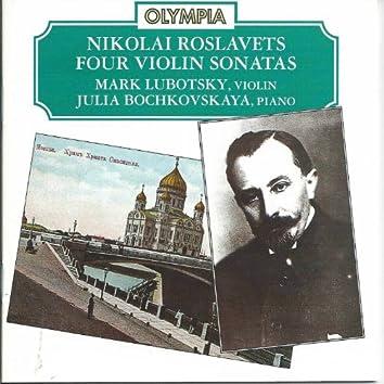 Nikolai Roslavets: Four Violin Sonatas