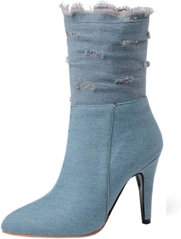 Melady Classic Women Ankle Boots Zipper