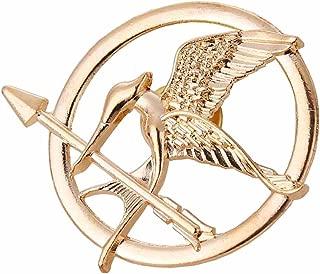 Angelia The Hunger Games Movie Mockingjay Prop Rep Pin (Mockingjay Golden)