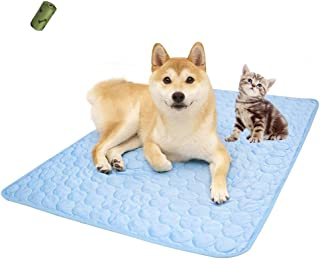 MICROCOSMOS Pet Chillz Cooling Mat, Keep Cool in Summe,Perfect Indoors, Outdoors or in The Car