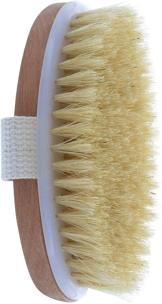 Dry Skin Body Brush Natural Remove Manufacturer direct delivery Toxin Dead Super Special SALE held Bristle and