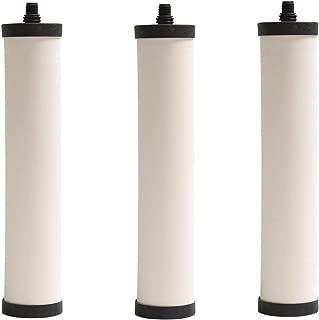Franke FRC06 Undersink Water Filtration Filter for FRCNSTR, Chlorine Removal (Pack of 3)