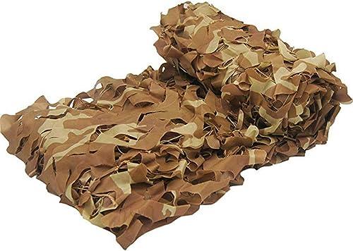 Voiles d'ombrage GGjin Tente De Camping en Filet De Camouflage, Tente Auvent en Tissu Oxford, Filet De Camouflage for Empêcher La Photographie Aérienne (Taille   8x8m)