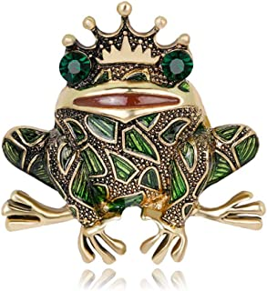 Frog Butterfly Fish Cat Tortoise Insect Series Brooches Animal Personality Cute Brooch For Women Gift Jewelry