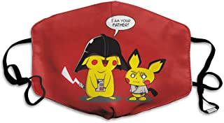 NewHotSale Star-Wars Pika-chu Anti Dust Face Mouth Cover Mask Respirator Cotton Protective Safety Warm Windproof Mask