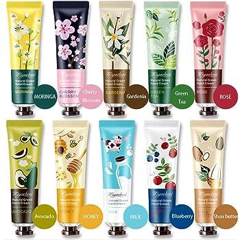 Ownest 10 Planta Paquete de Fragancias Crema de manos hidratante de la mano Crema del cuidado
