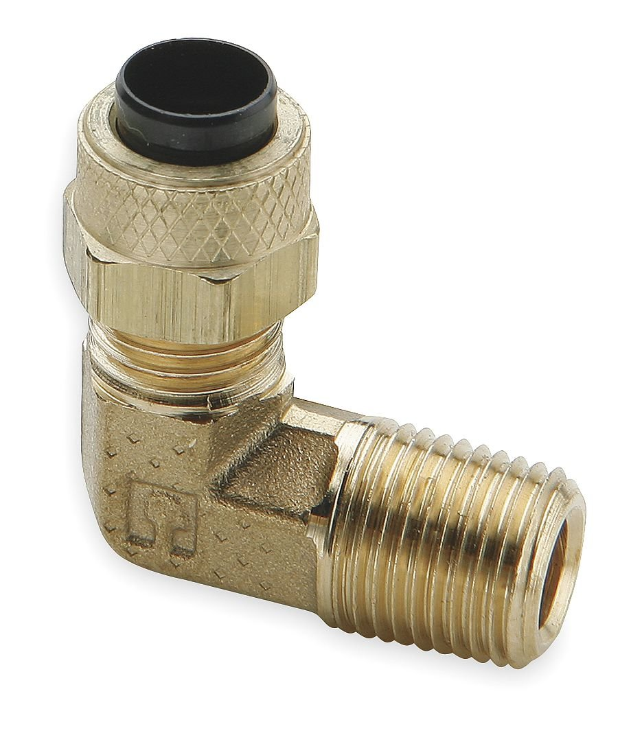 Parker Hannifin Cash special price 169P-5-2-pk5 unisex Male Fitting Brass Poly-Tite Elbow