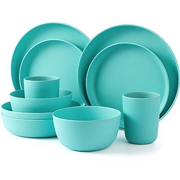 BPA... vert-Camping Vaisselle-Zuperzozial-garanti Petite assiette