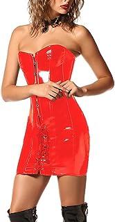 07f5e795168473 Amazon.fr : robe cuir sexy
