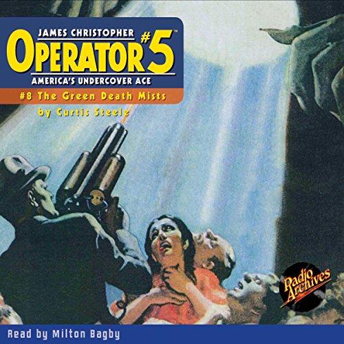 Operator #5 #8 November 1934 cover art