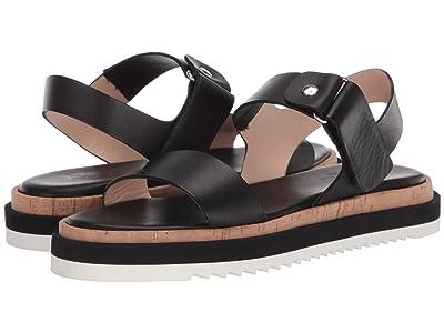 AGL Ankle Strap Sport Sandal (Black) Women