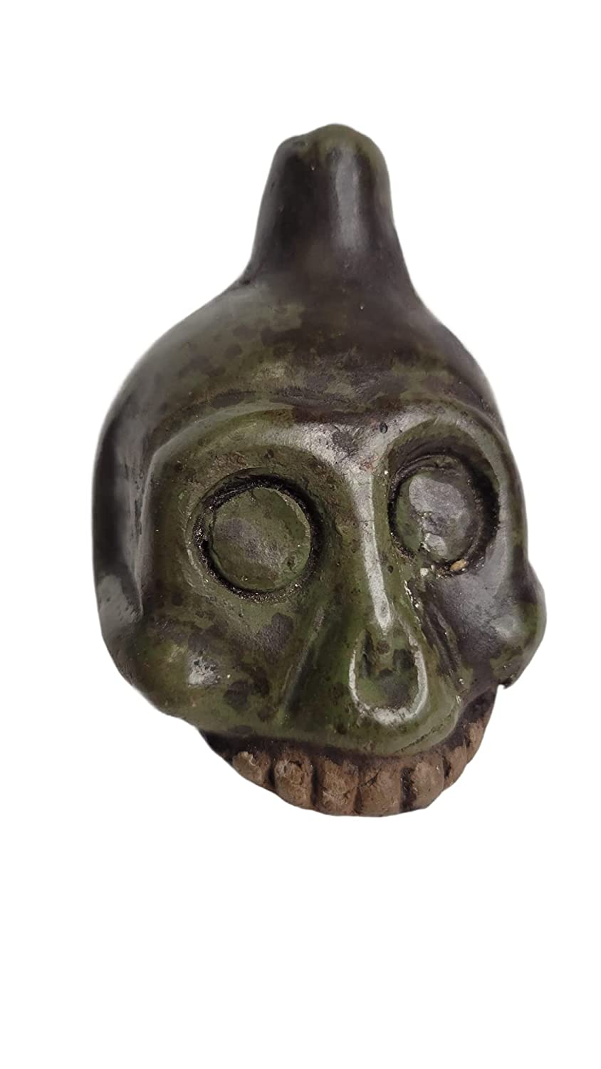 Complete Free Shipping Half discount Skull Death Whistle Small Clay Size Loud Aztec Handmade