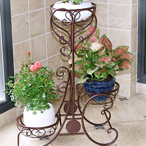 LIXIAQ1 Christmas Tree Stand 4 Foot Base Iron Metal Bracket Rubber Pad with Thumb Screw