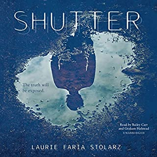 Shutter                   Written by:                                                                                                                                 Laurie Faria Stolarz                               Narrated by:                                                                                                                                 Bailey Carr,                                                                                        Graham Halstead                      Length: 6 hrs and 43 mins     21 ratings     Overall 3.7