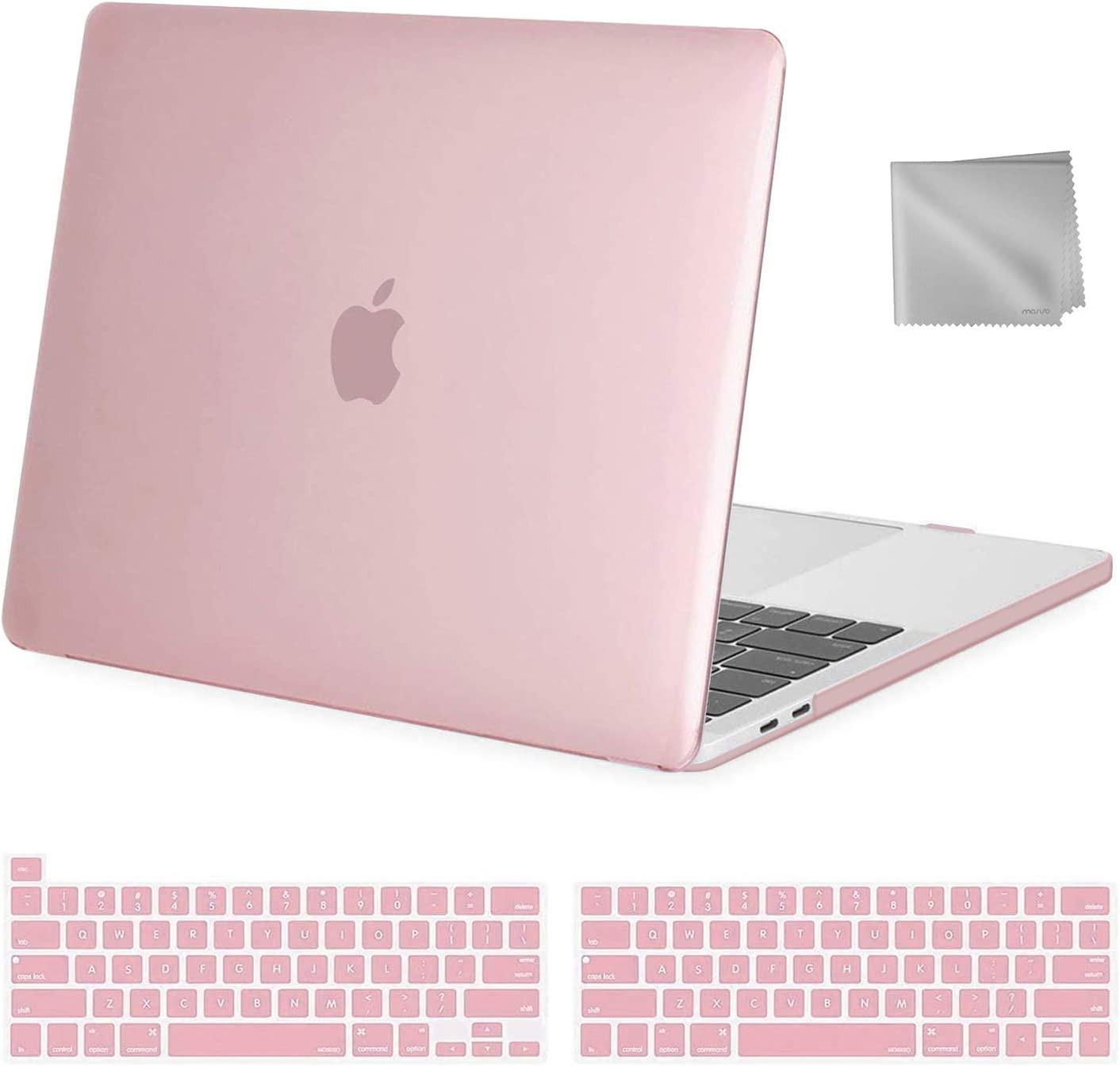 Plastic Hard Shell Case/&Keyboard Cover/&Wipe Cloth Compatible with MacBook Pro 13 inch Living Coral MOSISO MacBook Pro 13 inch Case 2016-2020 Release A2338 M1 A2289 A2251 A2159 A1989 A1706 A1708