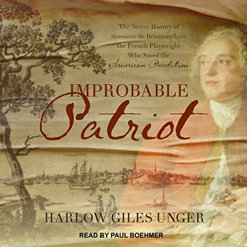 Improbable Patriot audiobook cover art