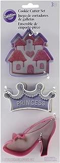 Metal Cookie Cutter Set 3/pkg-princess