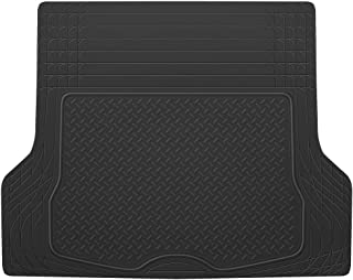 BDK Heavy Duty Cargo Liner Floor Mat-All Weather Trunk Protection, Trimmable to Fit & Durable HD Rubber Protection for Car SUV Sedan Auto