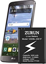 LG Stylo 3 Battery ZURUN 3400mAh Li-ion Battery Replacement for LG Stylo 3 LG Stylo 3 Plus TP450 MP450 LS777 | LG Stylo 3 Spare Battery [2 Year Warranty]