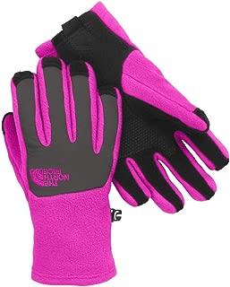 Denali Etip Glove Girls Luminous Pink/Graphite Grey Medium