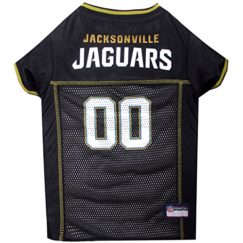 NFL JACKSONVILLE JAGUARS DOG Jersey, Small Shirt Apparel Jersey Cute Outfit for DOGS, CATS, Puppies, Kittens & Small Animals