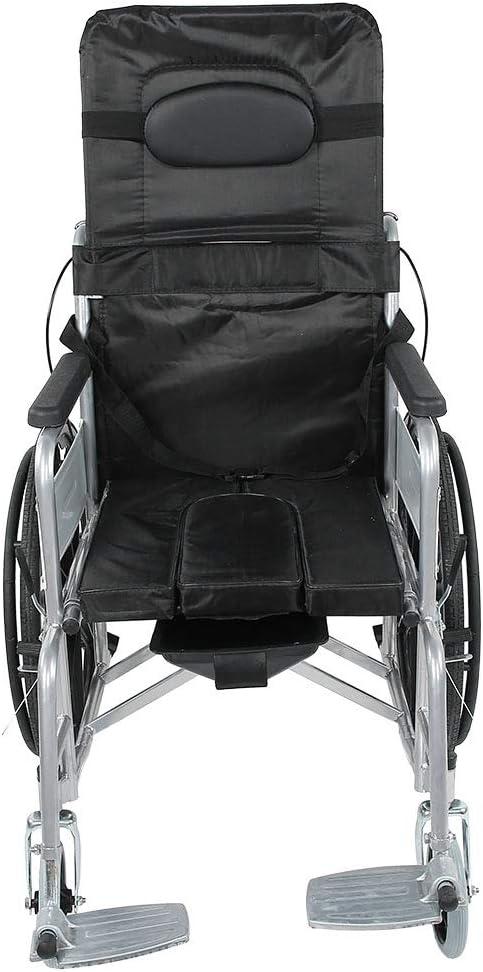 Silla de ruedas, autopropulsada, ligera, con estructura plegable, silla de ruedas deportiva con freno de mano, herramienta de ayuda a la movilidad estable, silla de viaje portátil, cómoda y resistente