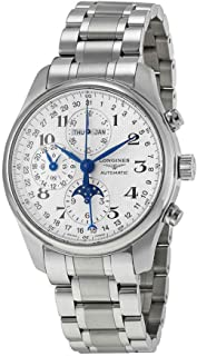 Longines Master Collection Silver Chronograph Dial Stainless Steel Mens Watch L27734786