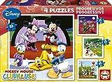 Educa Borras Progressive Puzzle Mickey Mouse (12/ 16/ 20/ 25 Pieces)