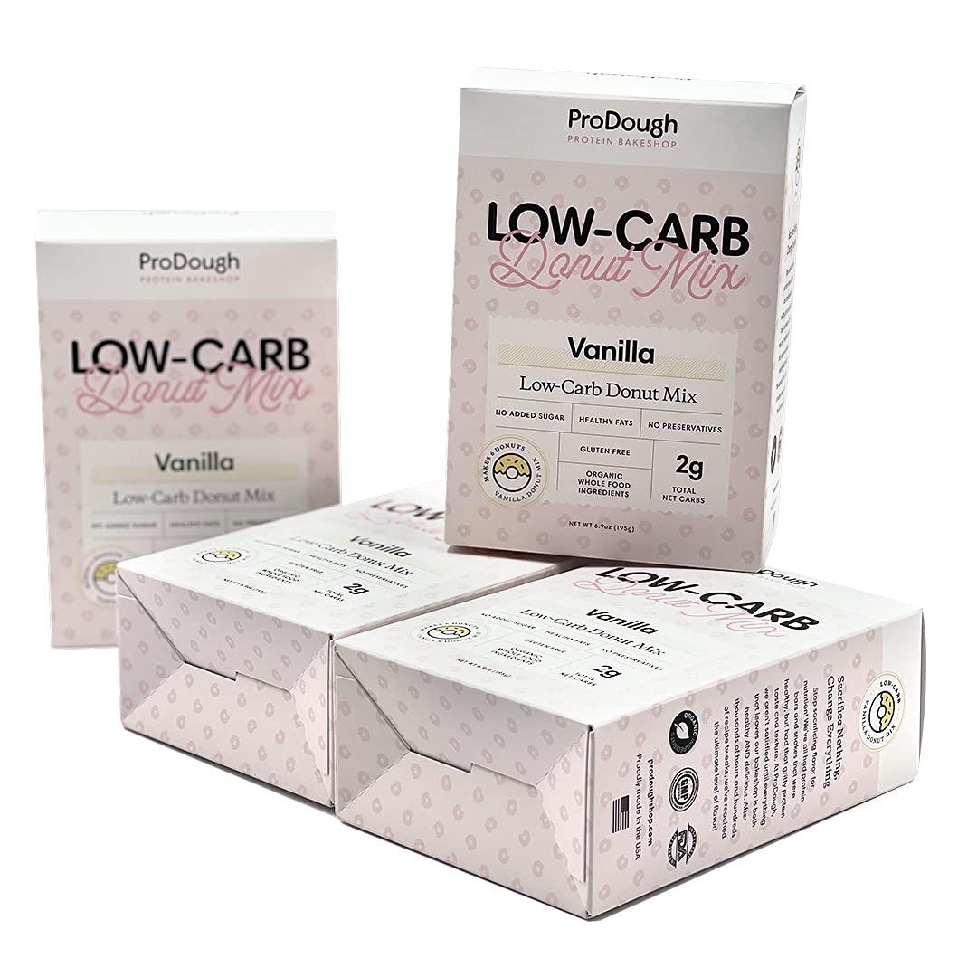 ProDough Limited time trial price Low Carb Donut Glaze Mix Superior Adde Gluten No Free –