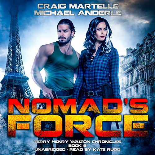 Nomad's Force audiobook cover art