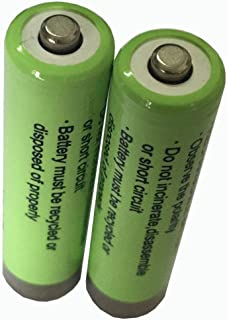 Two Batteries Replacement for Artiste ADH300 (700mAh) (AAA)