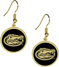 Siskiyou NCAA unisex-adult Gold Tone Earrings