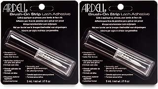 Ardell Brush on Striplash Adhesive, Clear, 5ml x 2 pack