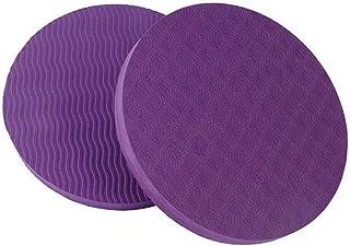 VORCOOL 2/Coussin de yoga tapis de protection pour genoux Noir poignets mains coudes