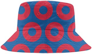 Outdoor Bucket Hat Penguin Face Pattern Printing Print Fisherman Boonie Cap for Women Men