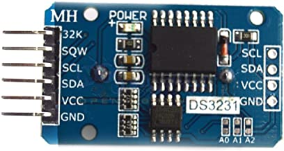 Holdding DS3231 AT24C32 IIC Module Precision Real Time Clock Memory Module Arduino/Precise Time Clock Module with a Temperature-compensated Crystal Oscillator