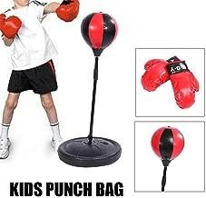 PEARL Unisex Jugend NX-8171 Boxsack Aufblasbarer Soft Anti-Frust-Punching-Ball 145 Stress-Design wei/ß Kegelform 145 cm