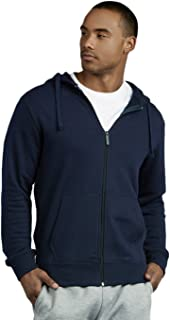 Men's Cotton Thick Zip Up Hoodie Jacket
