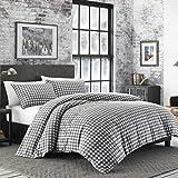 Eddie Bauer 223750 Preston Comforter Set Full/Queen Dark Grey