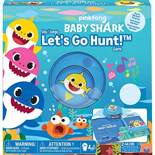 Pinkfong Baby Shark Let's Go Hunt-Kartenspiel